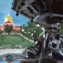 Brewer Fountain at Boston Common - by Becky DiMattia