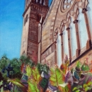 Old South Church in Boston's Copley Square - by Becky DiMattia