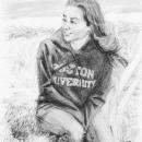 Alex on Cape Cod - by Becky DiMattia