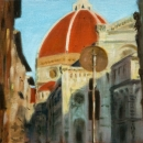 Il Duomo, First View - by Becky DiMattia