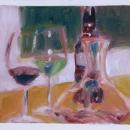 Wine and Appletini - by Becky DiMattia