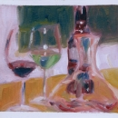 Wine and Appletini - by Becky DiMattia