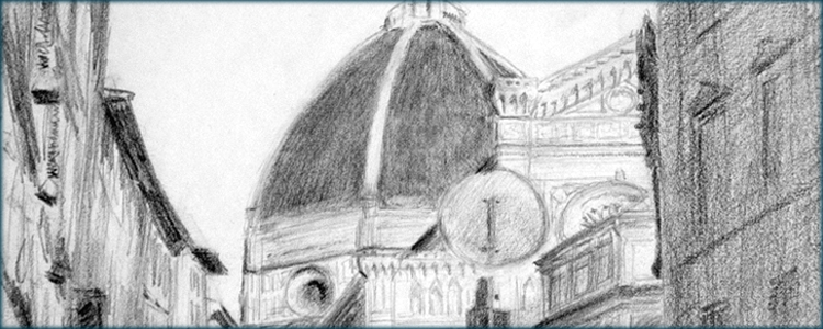 Il Duomo, First View - Becky DiMattia