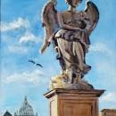Ponte Sant'Angelo, Rome - by Becky DiMattia