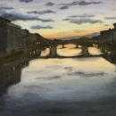 The View from Ponte Vecchio - by Becky DiMattia