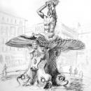 Barberini Fountain - by Becky DiMattia