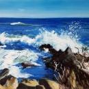 Ogunquit Waves - By Becky DiMattia