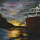 Sunset in Juneau - by Becky DiMattia