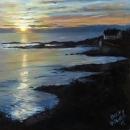 Sunrise in Ogunquit, Maine - By Becky DiMattia