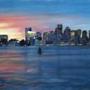 Harborside Sunset - by Becky DiMattia