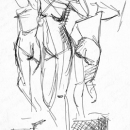 Allegorical Figures - by Becky DiMattia
