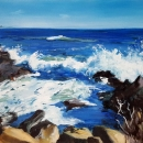 Ogunquit Waves - By Becky DiMattia
