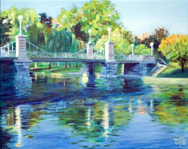 public gardens bridge