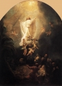 Rembrandt's Ascension of Christ