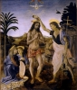 Verrocchio's Baptism of Christ