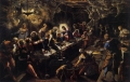 Tintoretto's Last Supper